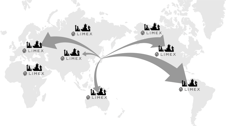 LIMEX(ライメックス)は、紙代替とプラスチック両方の代替として製造が可能です。